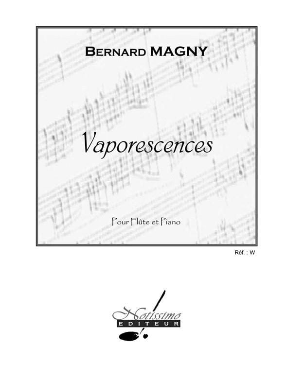 Bernard Magny - Vaporescences - Partition - di-arezzo.co.uk