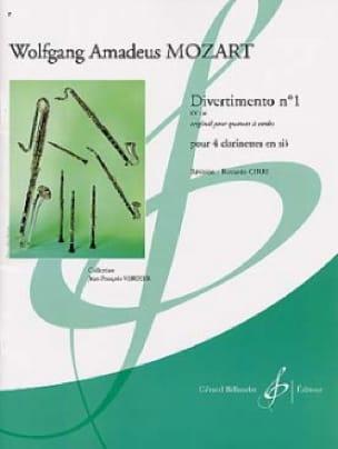 Divertimento N° 1 Kv 136 - MOZART - Partition - laflutedepan.com