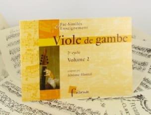 Viole de gambe - 2ème Cycle - Volume 2 - laflutedepan.com