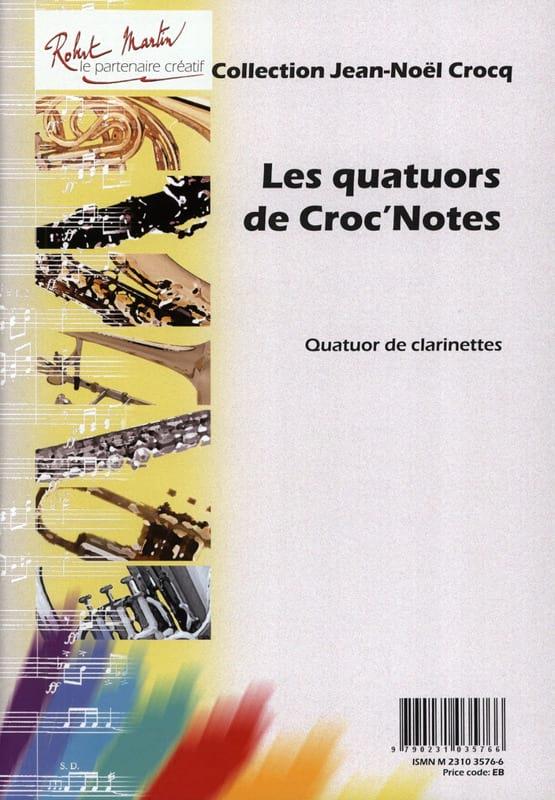 Les quatuors de Croc'notes - Jean-Noël Crocq - laflutedepan.com