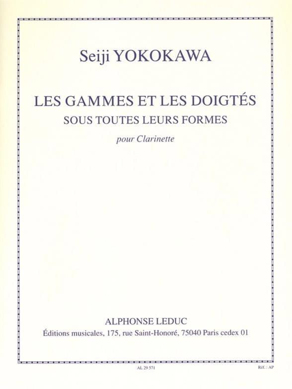 Les gammes et les doigtés - Seiji Yokokawa - laflutedepan.com
