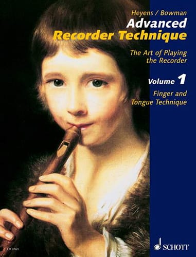 Advanced Recorder Technique - Volume 1 - laflutedepan.com