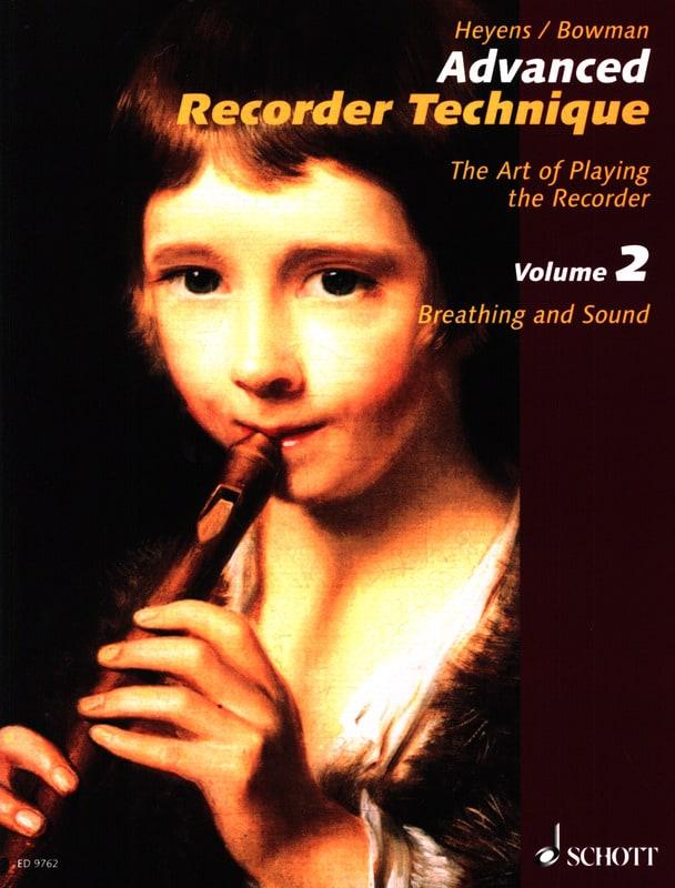 Heyens Gudrun / Bowman Peter - Advanced Technical Recorder - Volume 2 - Partition - di-arezzo.co.uk