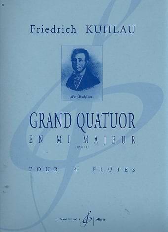 Grand Quatuor en mi majeur op. 103 - laflutedepan.com