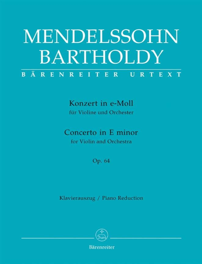 Concerto in E minor op. 64 - MENDELSSOHN - laflutedepan.com