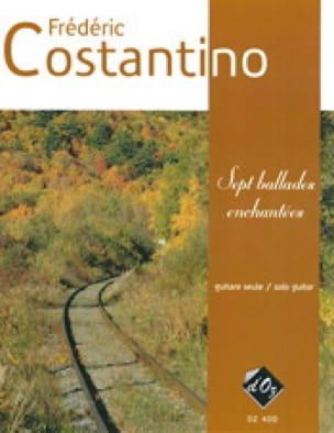 7 Ballades enchantées - Frédéric Costantino - laflutedepan.com
