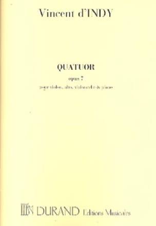 Quatuor avec piano op. 7 -Parties - laflutedepan.com