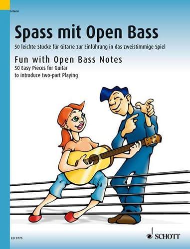 Spass mit open Bass -Gitarre - Dieter Kreidler - laflutedepan.com