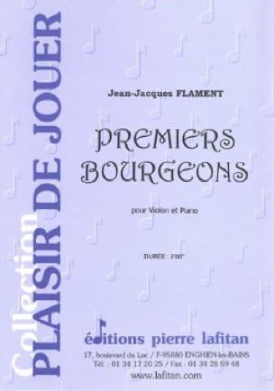 Premiers Bourgeons - Jean-Jacques Flament - laflutedepan.com