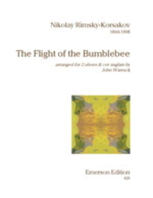 The flight of the bumblebee -2 Oboes cor anglais - laflutedepan.com