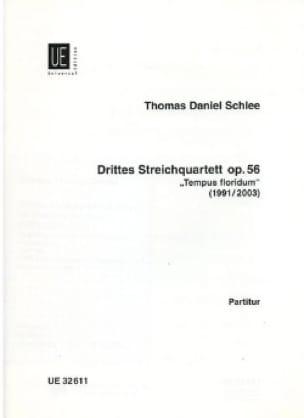 Drittes Streichquartett op. 56 - Partitur - laflutedepan.com