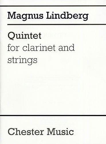 Quintet - Score - Magnus Lindberg - Partition - laflutedepan.com