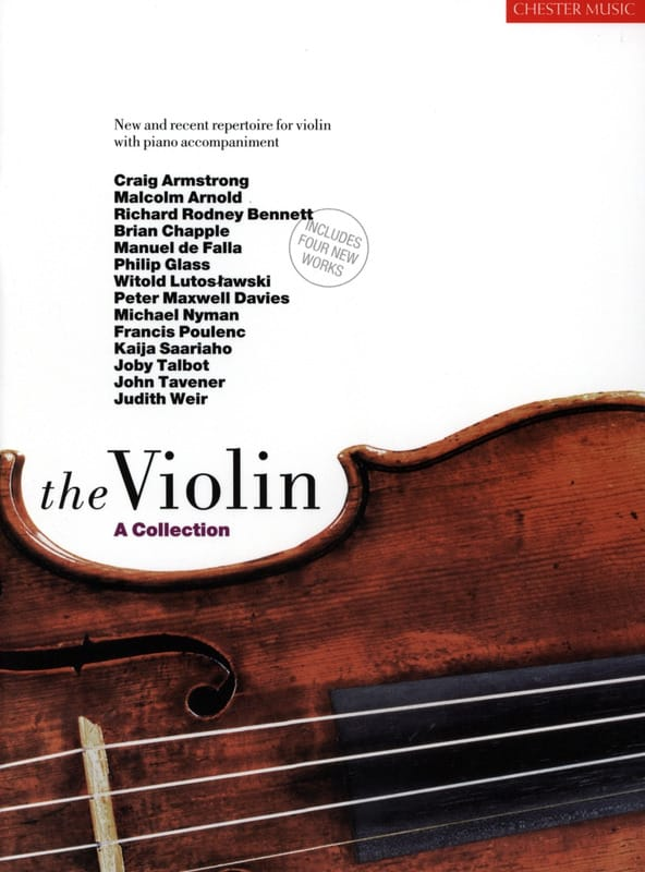 The Violin - A Collection - Partition - Violon - laflutedepan.com