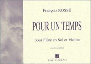 Pour un Temps - Flûte en Sol-Violon - laflutedepan.com
