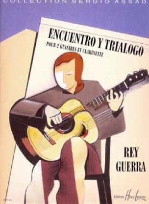 Encuentro y Trialogo - Rey Guerra - Partition - laflutedepan.com
