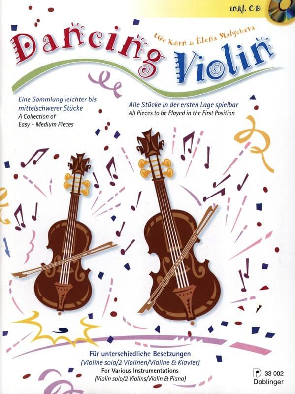 Dancing Violin - Korn Uwe / Malycheva Elena - laflutedepan.com