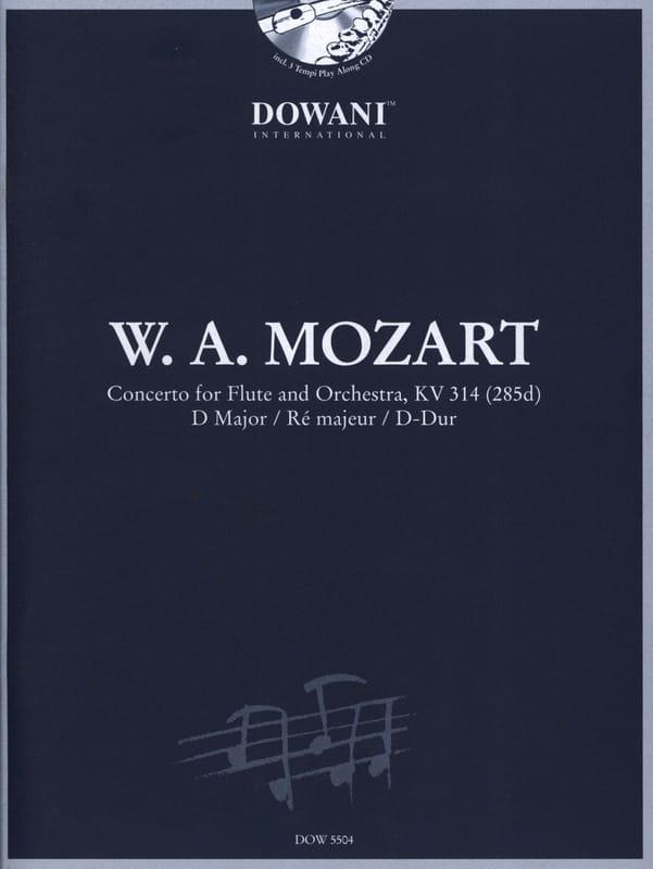 MOZART - Concerto for flute KV 314 dd. - Partition - di-arezzo.co.uk