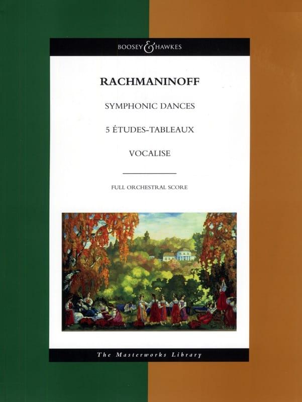 Symphonic Dances - 5 Etudes-Tableaux - Vocalise - laflutedepan.com