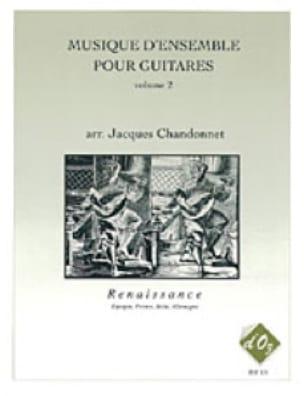 Musique D'ensemble Vol 2 Renaissance - laflutedepan.com
