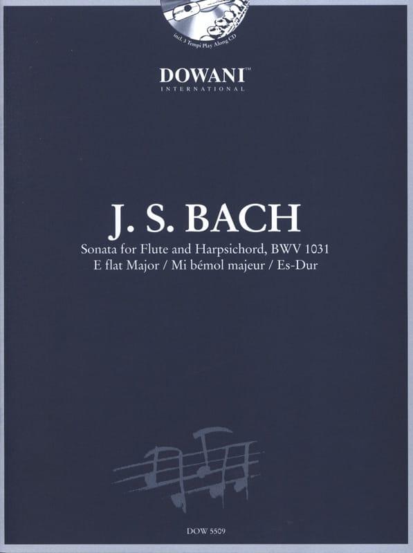 Sonate en mib maj. BWV 1031 - Flûte clavecin - BACH - laflutedepan.com