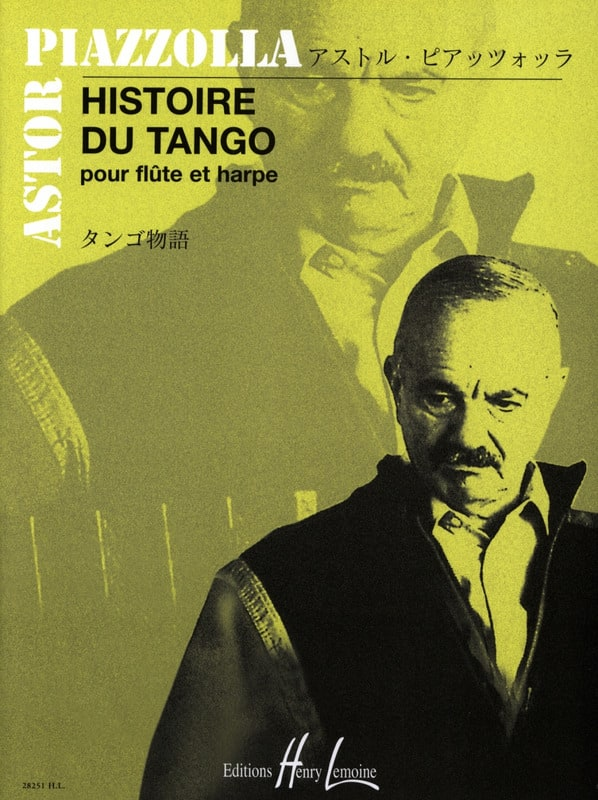 Astor Piazzolla - History of Tango - Flute and harp - Partition - di-arezzo.co.uk