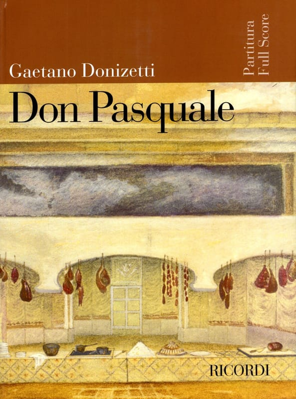 Gaetano Donizetti - Don Pasquale new ed. - Partition - di-arezzo.co.uk