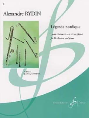 Légende nordique - Alexandre Rydin - Partition - laflutedepan.com