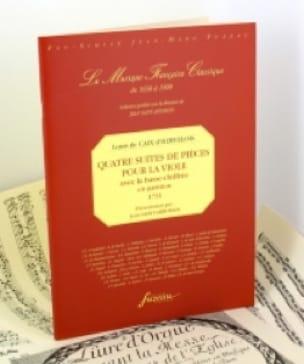 d'Hervelois Louis de Caix - Quatre Suites de Pièces Pour la Viole Op.3 - Partition - di-arezzo.fr