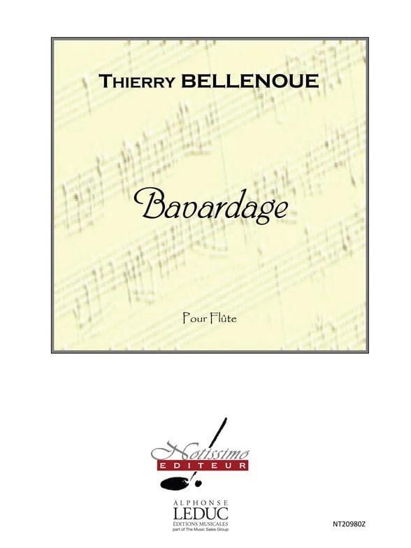 Bavardage - Thierry Bellenoue - Partition - laflutedepan.com
