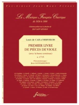 d'Hervelois Louis de Caix - Premier livre de pièces de viole - Partition - di-arezzo.fr