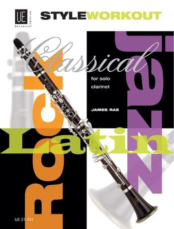 Style Workout for Clarinette solo - James Rae - laflutedepan.com