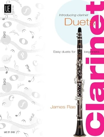 James Rae - Presentando duetos de clarinete - Partition - di-arezzo.es