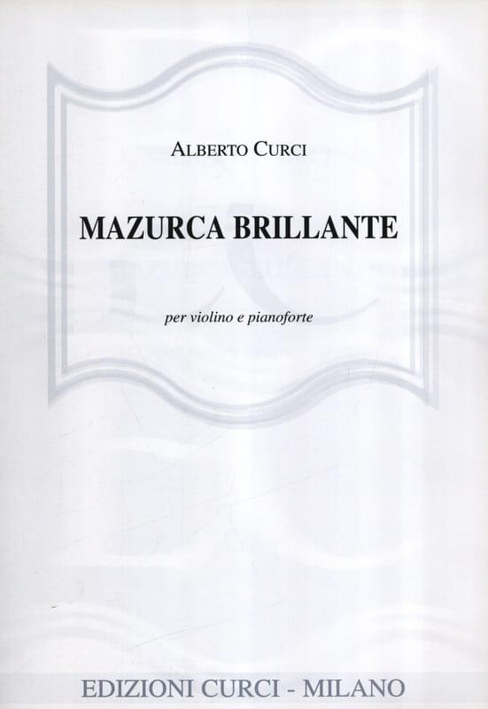Mazurca Brillante - Alberto Curci - Partition - laflutedepan.com