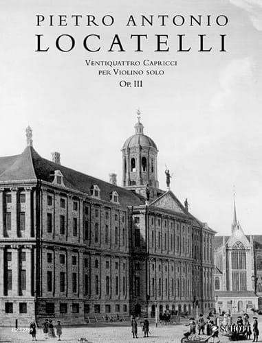 Pietro Antonio Locatelli - 24 Capricci per violino solo op. 3 - Partition - di-arezzo.co.uk