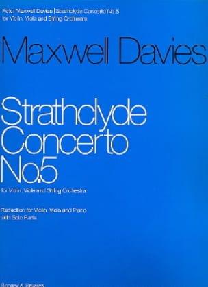 Strathclyde Concerto n° 5 - Davies Peter Maxwell - laflutedepan.com