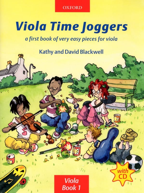 Viola Time Joggers Book 1 - Partition - Alto - laflutedepan.com