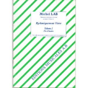 Rythmiquement vôtre - Volume 2 - Michel Lab - laflutedepan.com