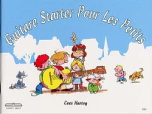 Cees Hartog - Starter guitar for the little ones - Partition - di-arezzo.co.uk