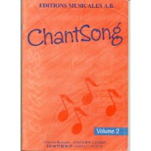 Chantsong - Volume 2 - AB - Partition - Solfèges - laflutedepan.com