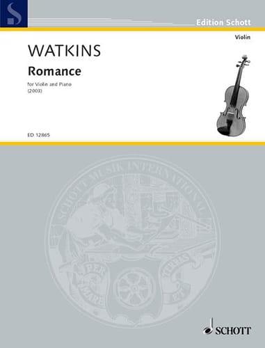 Romance - Huw Watkins - Partition - Violon - laflutedepan.com