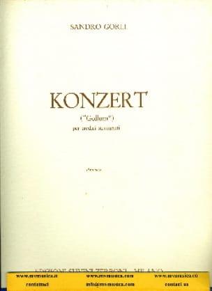 Konzert - Partitura - Sandro Gorli - Partition - laflutedepan.com