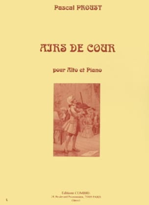 Pascal Proust - Courts airs - Partition - di-arezzo.com