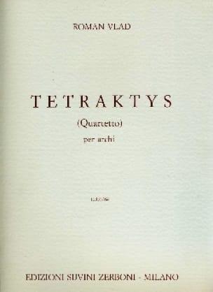 Tetraktys Quartetto - Roman Vlad - Partition - laflutedepan.com