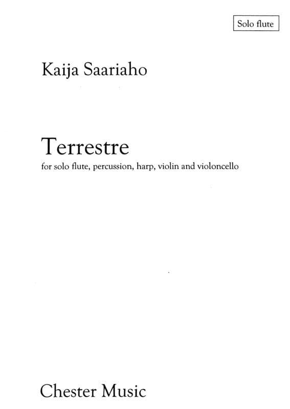 Terrestre - Set of Parts - Kaija Saariaho - laflutedepan.com