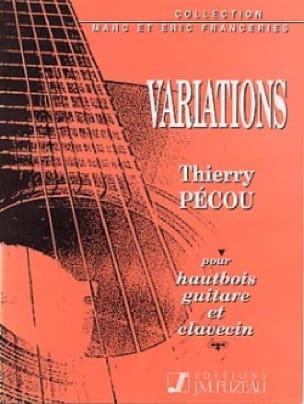 Variations pour hautbois, guitare et clavecin - laflutedepan.com