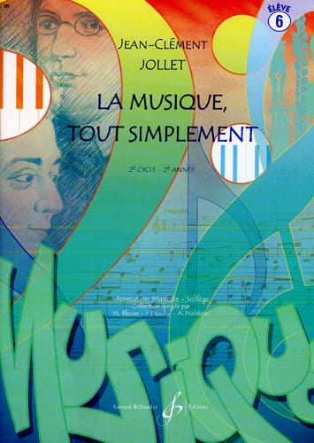 Jean-Clément Jollet - Music Simply - Volume 6 - Partition - di-arezzo.com