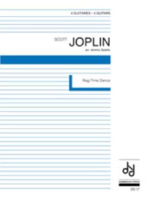 Rag-Time Dance - 4 Guitares - JOPLIN - Partition - laflutedepan.com