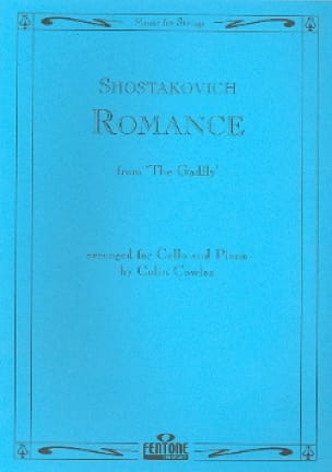 CHOSTAKOVITCH - Romance from The Gadfly - Cello - Partition - di-arezzo.co.uk