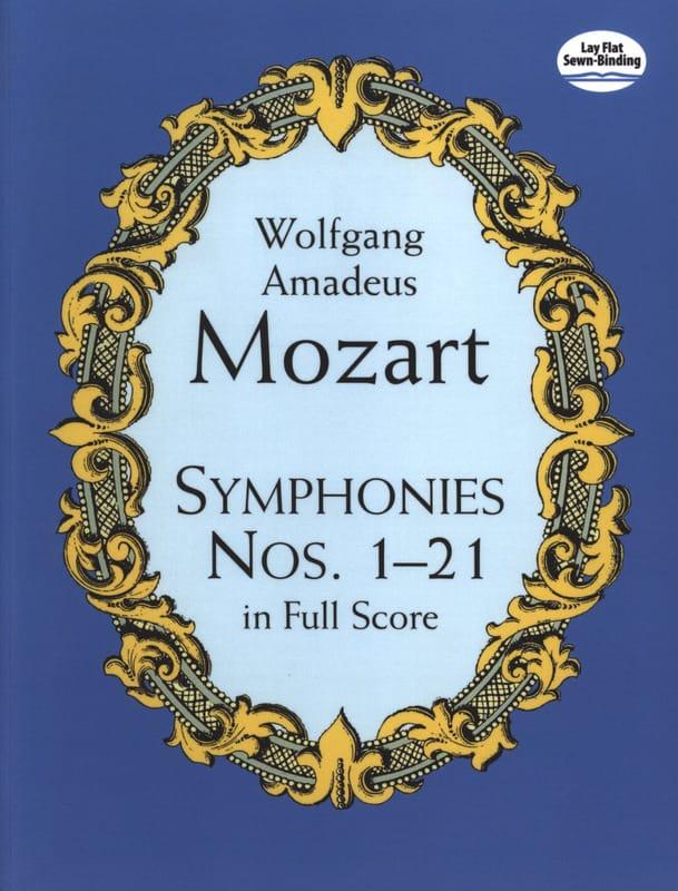 Symphonies N° 1 à 21 - MOZART - Partition - laflutedepan.com