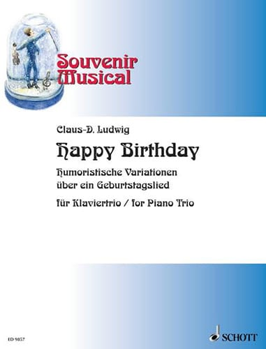 Happy Birthday - Claus.D Ludwig - Partition - laflutedepan.com